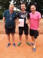 První tým - Kubas team - Tomáš Skokan, Jan Michálek, Ondřej Kubát