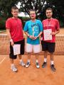 Třetí tým - Red and White - Martin Čapoun, Milan Zlínský, Petr Štepánek